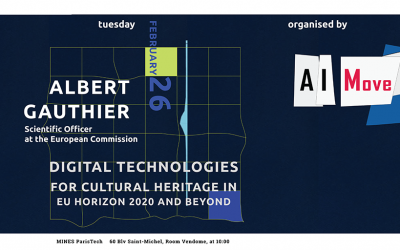 Digital Technologies for Cultural Heritage in EU Horizon 2020 and beyond